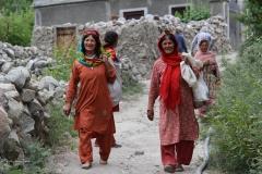 Hunza women