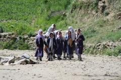 Hunza Schoolgirls